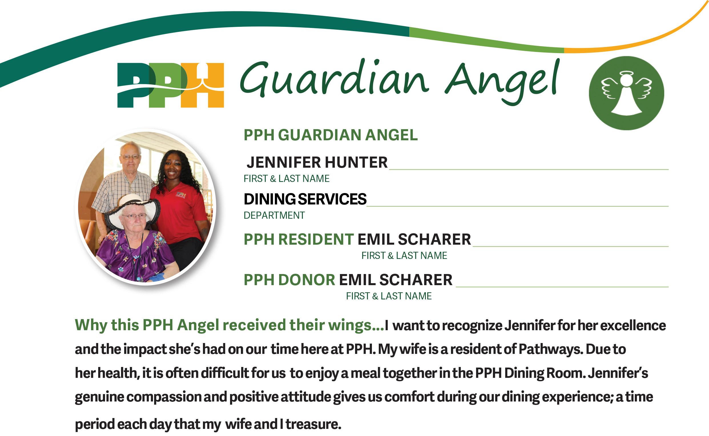 Guardian Angel Giving - Philadelphia Protestant Home