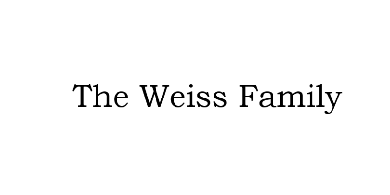 The Weiss Family