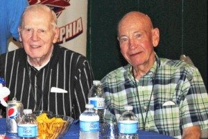 Ed Rudzinski and the late Ernie Miller