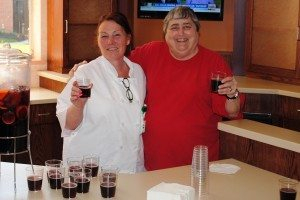 Ann Fassel, PPh Resident and Guest Services Manager and Rose Mary Clark, PPh resident and voluteer.