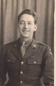 Robert Frank Schaible WW II picture